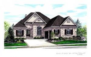 Williams Custom Art Builders_2006 home-a-rama_rendering