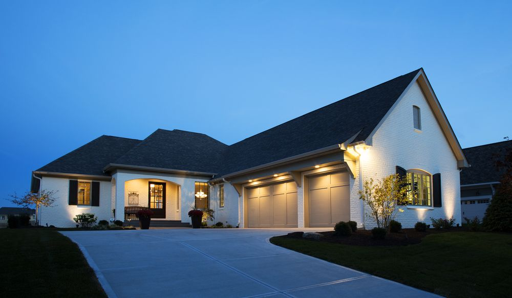 carmel-custom-home-builder-williams_Night-elevation